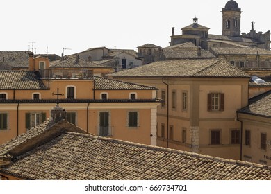Rooftop view over Arpino village