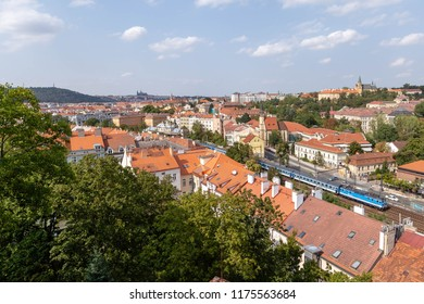 Rooftop view of Prague