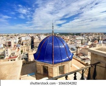 Rooftops of Elche, Catalonia