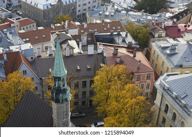 Rooftops of the Old Town - Tallinn, Estonia
