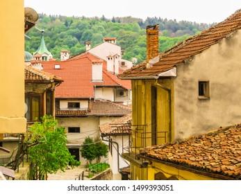 Rooftops of the Old Town Veliko Tarnovo, Bulgaria