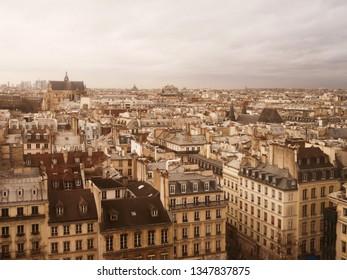 Rooftops in Paris