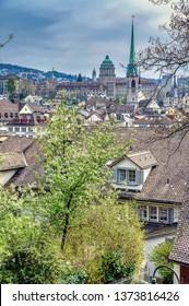 Rooftops of Zurich
