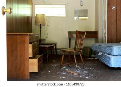 Room In an Abandoned Roadside Motel