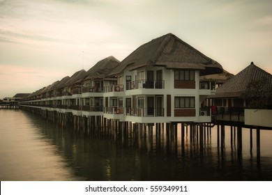 Room arrangement above the coast at Avani Sepang Goldcoast Resort, Malaysia