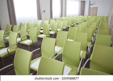 room with chairs for training and meetings