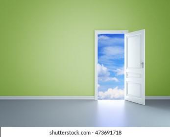 Room of Dreams, 3D illustration