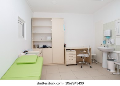 room in the hospital . doctor's office.doctor's room close up. hospital check-ins