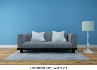 room interior 3d rendering