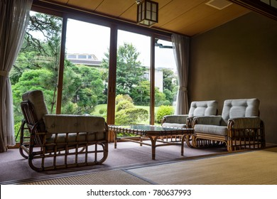 Room at the Japanese-style hotel