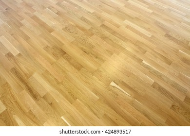 room with parquet floor