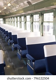 Rooms in an old train