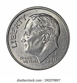 Roosevelt on dime