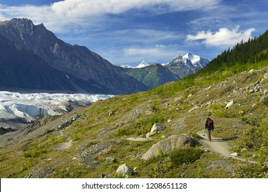 Root Glacier Trail, Wrangell-St.Elias Elias National Park, Alaska, UNESCO World Heritage Site