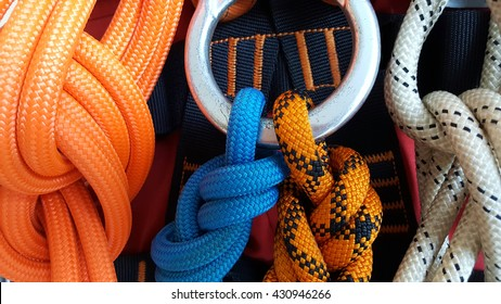 Rope access equipments