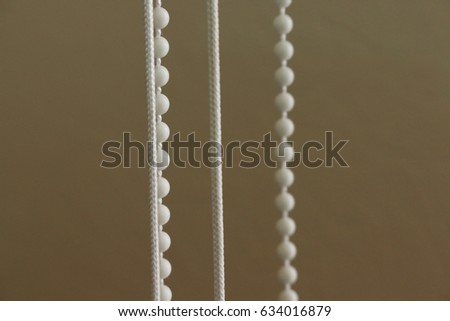 Rope for blinds