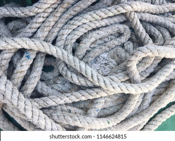 rope of the boat