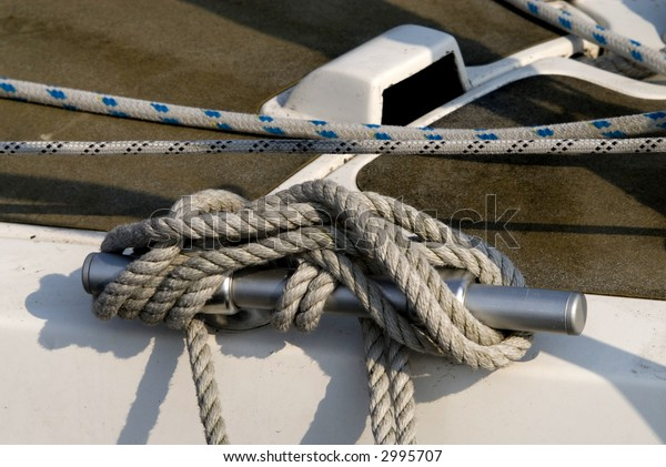 rope from a boat