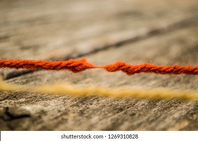 Rope for cutting tension