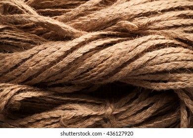 rope flax abstract background still life close up macro rustic flat lay