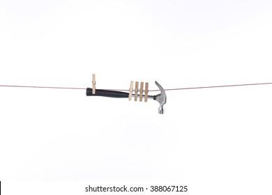 rope hanging hammer