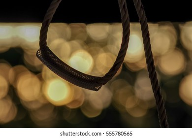 A rope knot with a beautiful background
