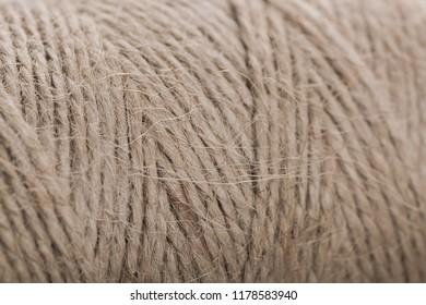 Rope. Rough fabric