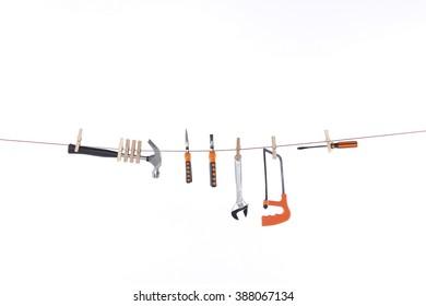 rope slung tool set