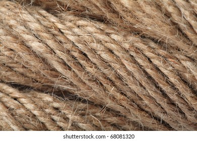 rope texeture in super close-up