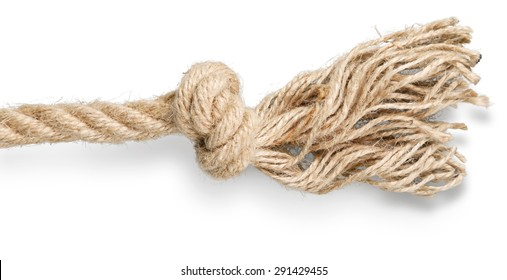 Rope, Tied Knot, String.