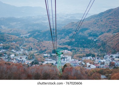 Ropeway from heaven to paradise