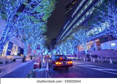 Roppongi Hills Keyakizaka Christmas Illumination