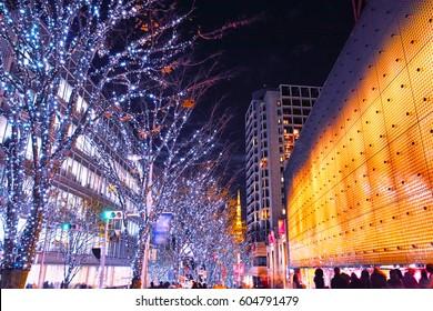 Roppongi Keyakizaka Christmas illumination