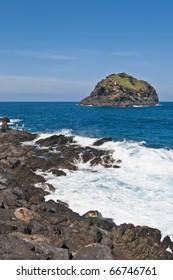 Roque de Garachico at Tenerife Island