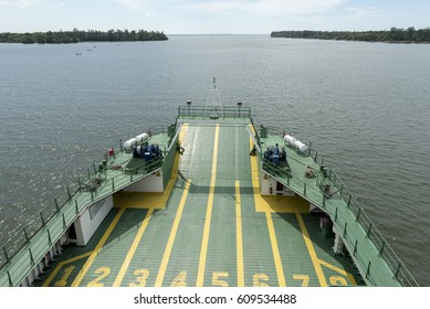 Ro-Ro ferry heading for the channel