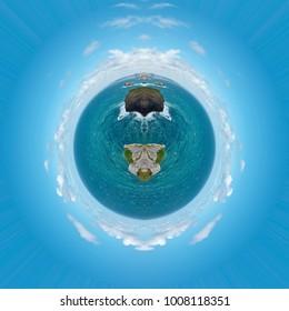 Rorschach polar coordinates