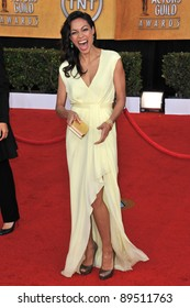 Rosario Dawson at the 17th Annual Screen Actors Guild Awards at the Shrine Auditorium. January 30, 2011  Los Angeles, CA Picture: Paul Smith / Featureflash