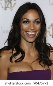 Rosario Dawson arriving for the Roberto Cavalli party at Battersea Power Station, London. 17/09/2011 Picture by: Steve Vas / Featureflash