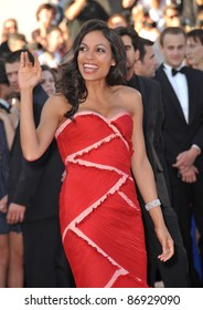 "Rosario Dawson at the premiere of ""This Must Be The Place"" in competition at the 64th Festival de Cannes. May 20, 2011  Cannes, France Picture: Paul Smith / Featureflash"