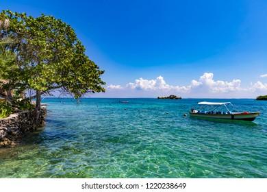 Rosario Island near Cartagena, Colombia