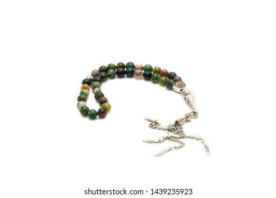 rosary made of natural stone
