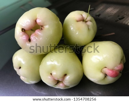 Rose Apple And Cashew Fruit