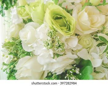 rose bouquet for decoration.