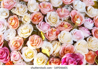 Rose fake flower