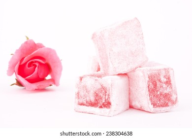 rose flavoured turkish delight