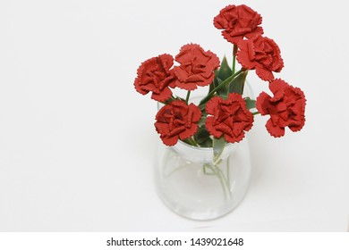Rose Flower in the Clear  vase