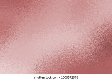 Rose foil decorative texture. Pink shiny background