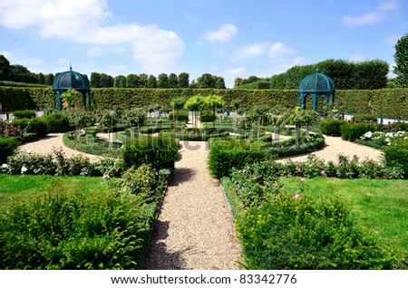 Rose Garden Hannover Germany Stock Photo Edit Now 83342776