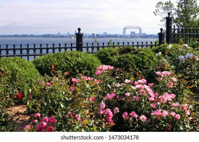 The Rose Garden on Lake Superior in Duluth Minnesota