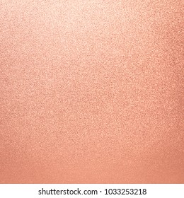 Rose Gold Foil Texture Background Pink Abstract Glitter Light Color Wall